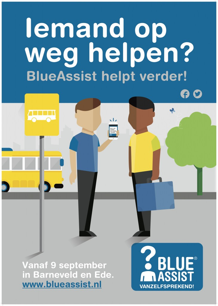 BlueAssist A0 poster